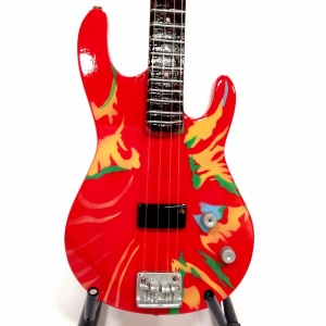 Miniaturowa  gitara basowa Red Hot Chili Peppers