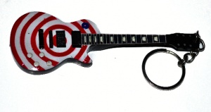 Breloczek gitara Black Label Society - Zakk Whylde - red