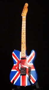 Miniaturowa gitara The Rolling Stones Keith Richard UK&Tongue