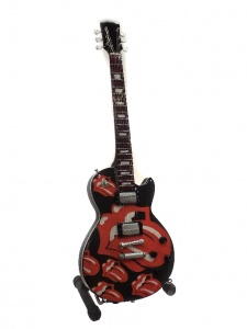 Miniaturowa gitara The Rolling Stones Tribute