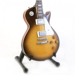 Miniaturowa gitara Les Paul Jimmy Page Led Zeppelin