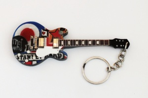 Breloczek gitara  Les Paul The Who Tribute