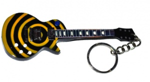 Breloczek gitara Black Label Society - Zakk Whylde - yellow